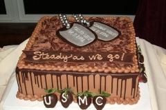 USMC-Dog-Tags-Cake